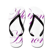 Matron of Honor Fancy Flip Flops