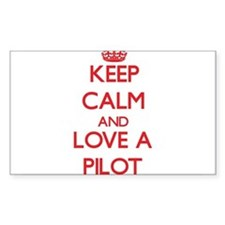 Keep Calm and Love a Pilot Decal