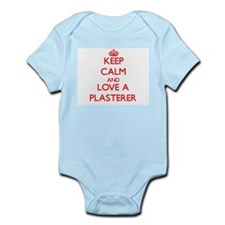 Keep Calm and Love a Plasterer Body Suit