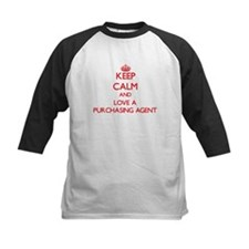 Keep Calm and Love a Purchasing Agent Baseball Jer