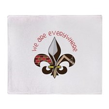 We Are Everywhere Throw Blanket