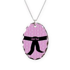 Untitled Necklace Oval Charm
