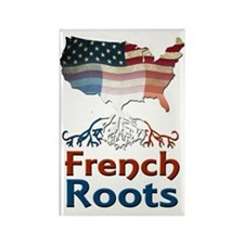 American French Roots Magnets
