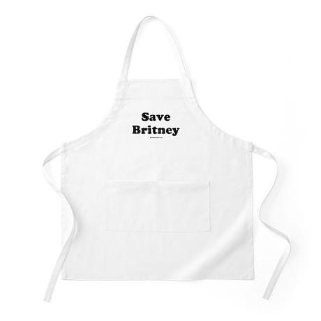 Save Britney BBQ Apron