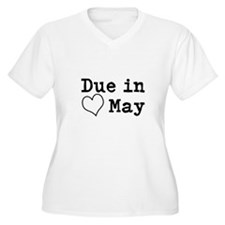 Due in May Plus Size T-Shirt