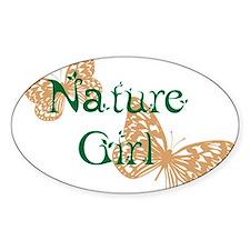 Nature Girl Butterflies Decal