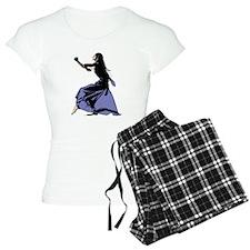 Dancing Dark Lady pajamas