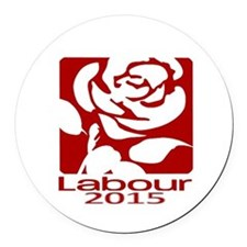 Labour Party 2015 Round Car Magnet
