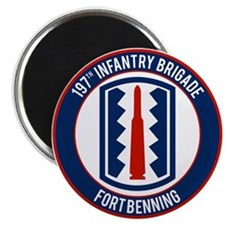 "197th Infantry post 2.25"" Magnet (10 pack)"