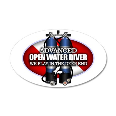 Advanced Open Water Wall Decal