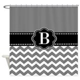 Monogrammed shower curtains Bathroom Décor