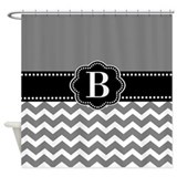 Monogrammed shower curtains Shower Curtains