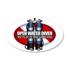 Open Water Diver (Scuba Tanks) Wall Decal