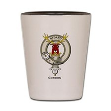 Gordon Clan Badge Shot Glass