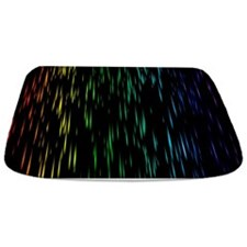Rainbow Rain Bathmat