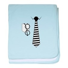 Shirt and Tie baby blanket