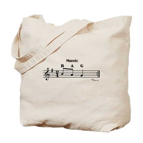 Music Bag Tote Bag