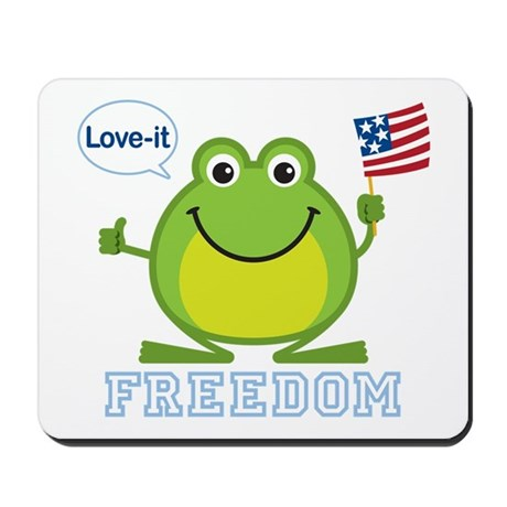 Freedom Frog: Mousepad