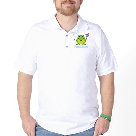 Freedom Frog: Golf Shirt