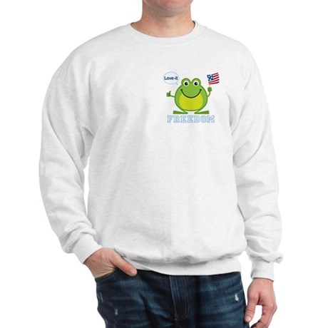 Freedom Frog: Sweatshirt