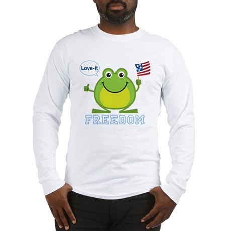 Freedom Frog: Long Sleeve T-Shirt