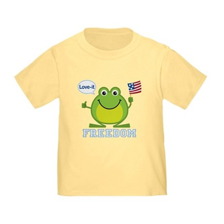Freedom Frog: Toddler T-Shirt