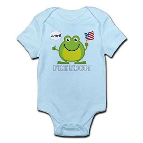 Freedom Frog: Infant Bodysuit