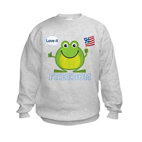 Freedom Frog: Kids Sweatshirt