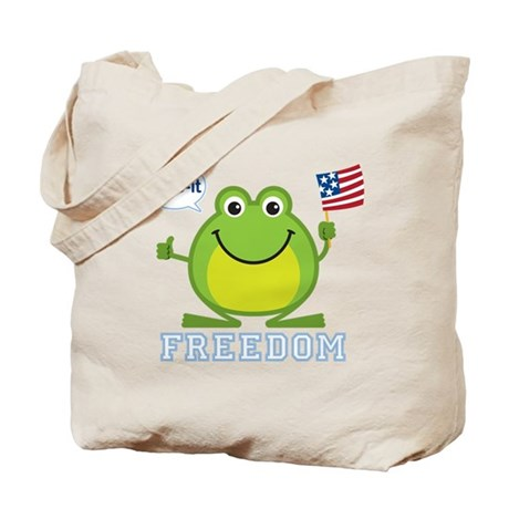 Freedom Frog: Tote Bag