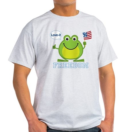 Freedom Frog: Light T-Shirt