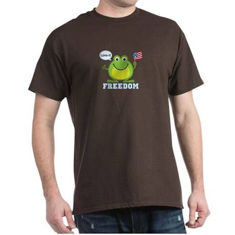 Freedom Frog: Dark T-Shirt