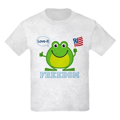Freedom Frog: Kids Light T-Shirt