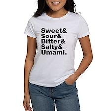 Five Basic Tastes T-Shirt