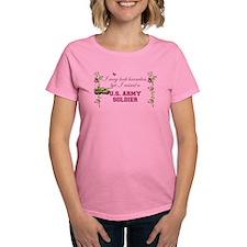 I Raised A Soldier Women's Dark T-Shirt