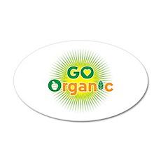 Go Organic 20x12 Oval Wall Decal