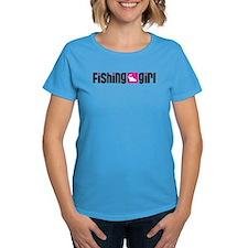 Fishing Girl Tee