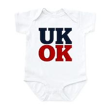 UK? OK!! Infant Bodysuit