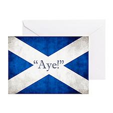 Aye, Scotland! Greeting Cards (pk Of 10)