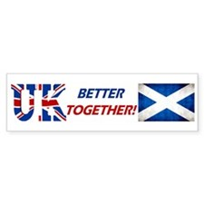Better Together! Bumper Sticker