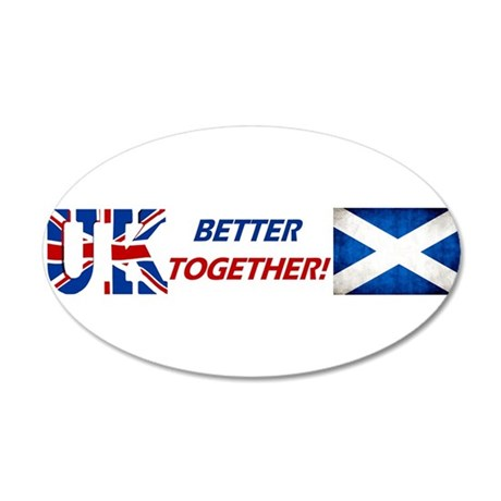 Better Together! 20x12 Oval Wall Decal