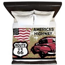 Route US 66 King Duvet