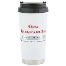Cute Gregorian chant Travel Mug