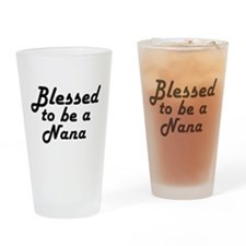 Blessed Nana Drinking Glass