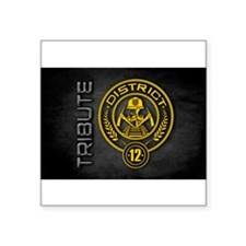 "Cool Haymitch Square Sticker 3"" x 3"""