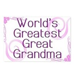 World's Greatest Great Grandma Postcards (Package
