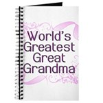 World's Greatest Great Grandma Journal