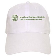 Hawaiian Humane Society green horizontal logo Base