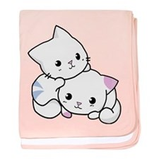 Kitty Love Baby Blanket