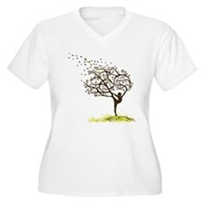 tree2 Plus Size T-Shirt