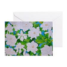 Gardenias Greeting Card